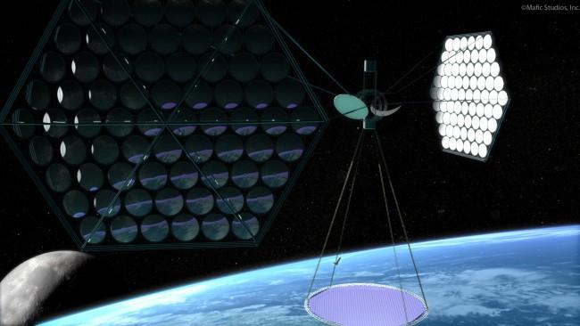 космическая электростанция