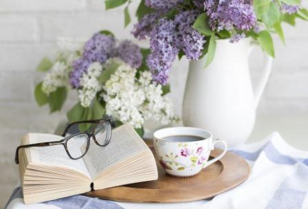 книга-чай-цветы