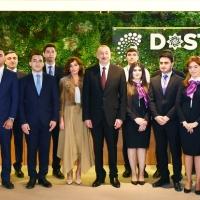 В Баку состоялось открытие административного здания Агентства DOST и первого центра DOST