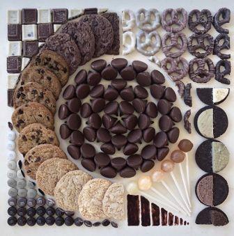 композиции из еды