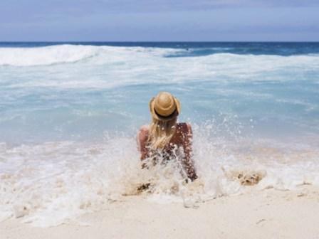 погода-жара - пляж