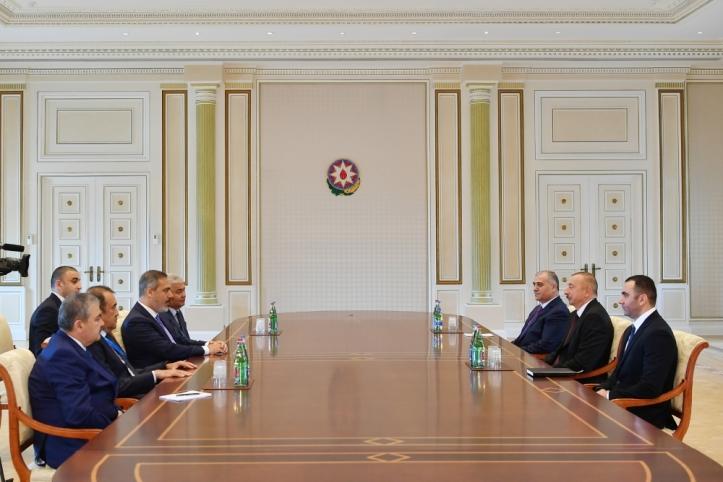 президент-спецслужбы Турции