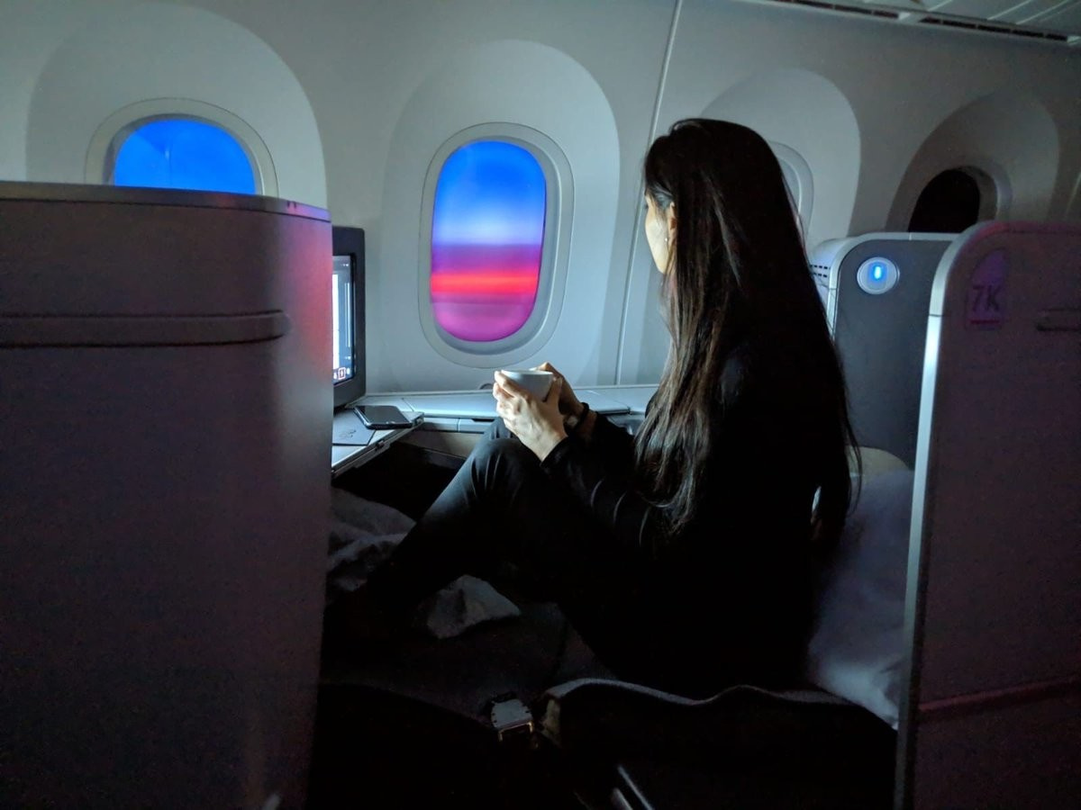 самолет-пассажирка