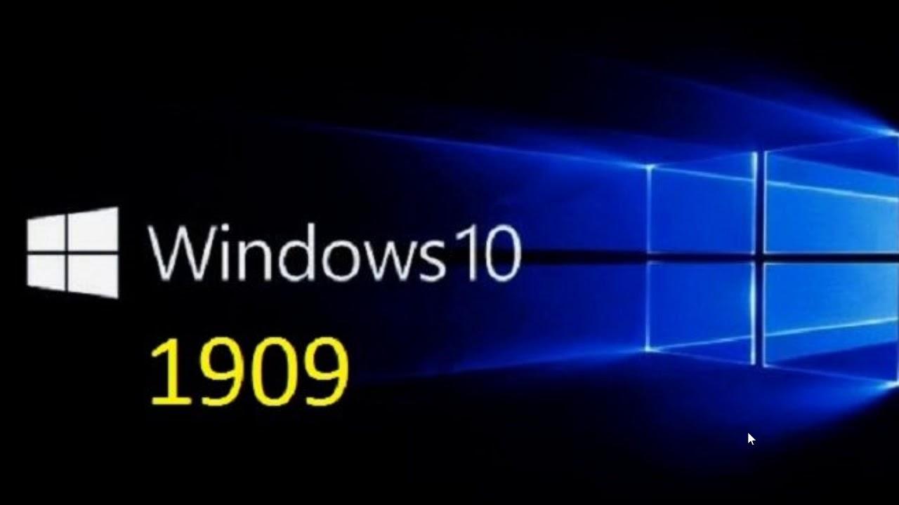 windows 10-1909