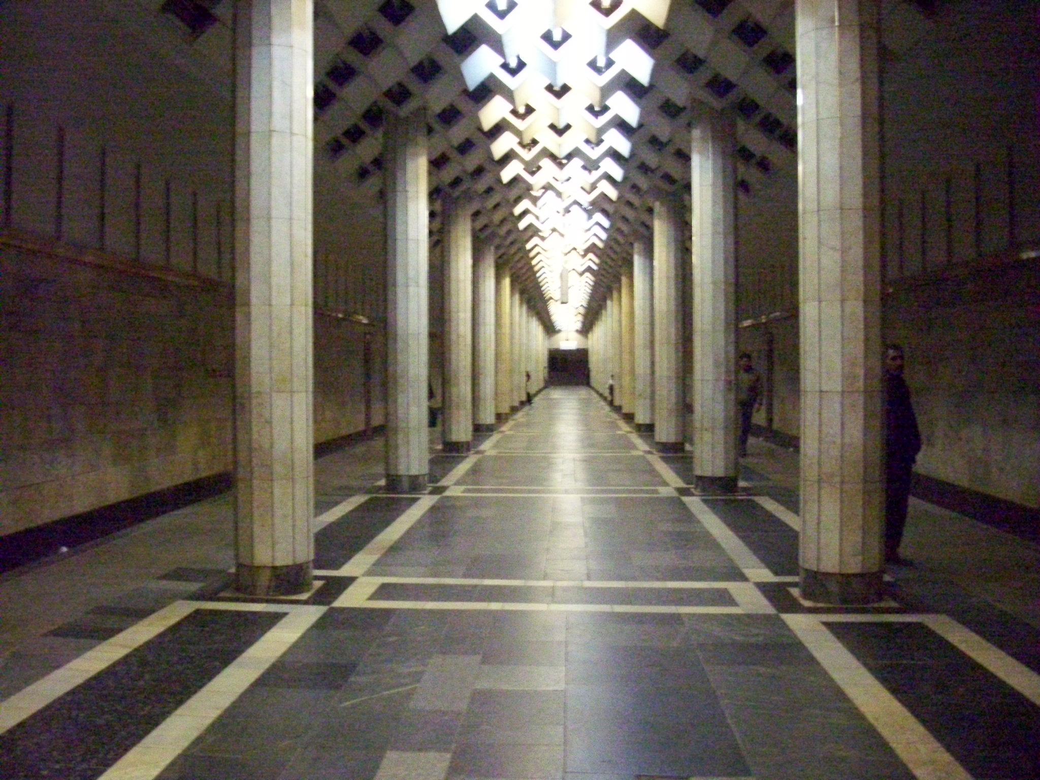 бакметрополитен станция