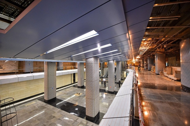 двухуровневое метро