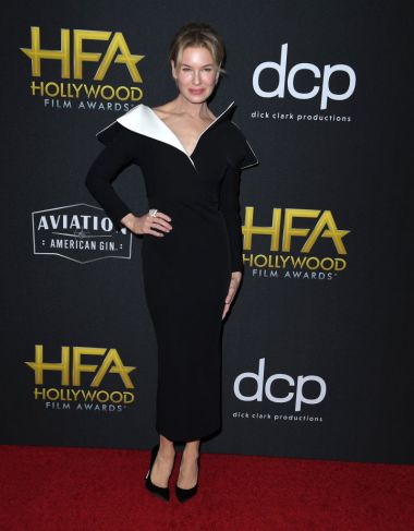 BEVERLY HILLS, CALIFORNIA - NOVEMBER 03: Renée Zellweger arrives at the 23rd Annual Hollywood Film Awards at The Beverly Hilton Hotel on November 03, 2019 in Beverly Hills, California. (Photo by Steve Granitz/WireImage)