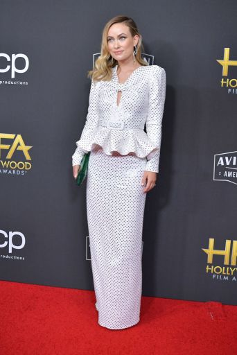 BEVERLY HILLS, CALIFORNIA - NOVEMBER 03: Olivia Wilde attends the 23rd Annual Hollywood Film Awards at The Beverly Hilton Hotel on November 03, 2019 in Beverly Hills, California. (Photo by Amy Sussman/FilmMagic)