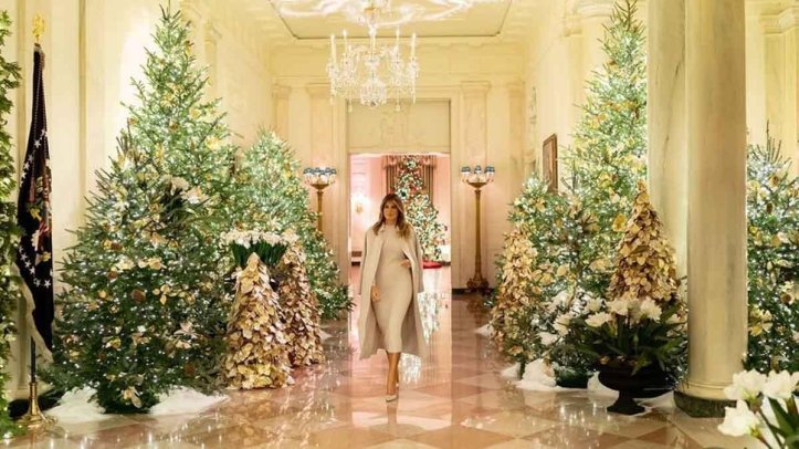 белый дом-меланья трамп
