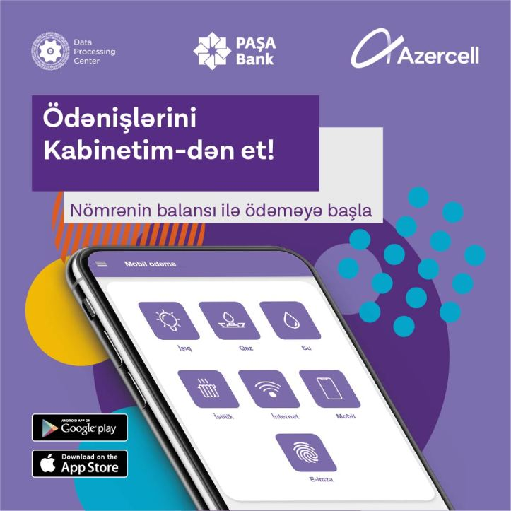 Azercell Mobil Odeme xidmeti