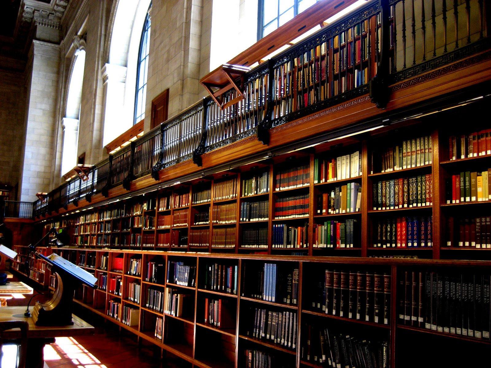 публичная библиотека нью-йорка