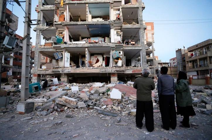 иран-землетрясение