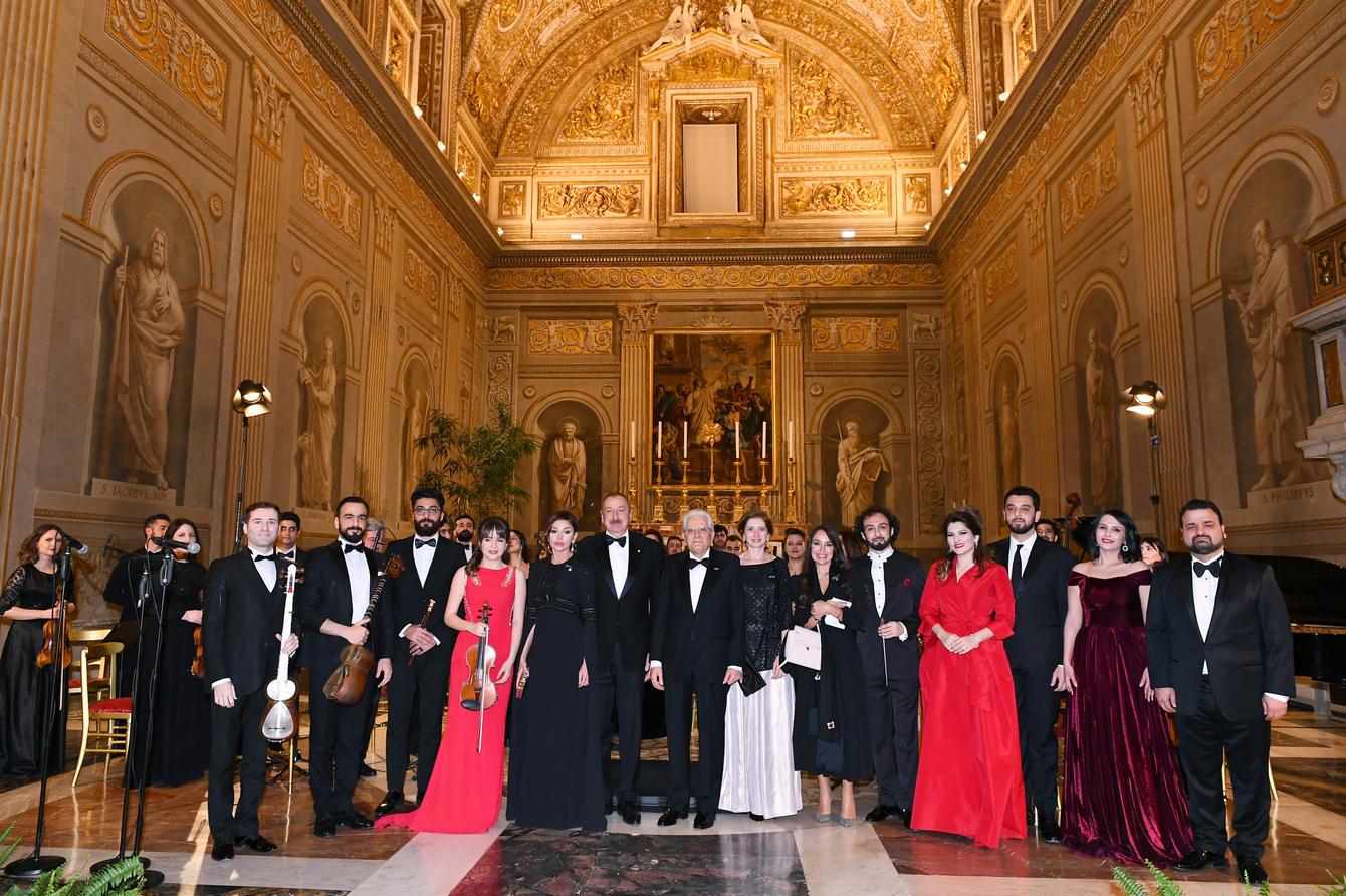 концерт италия-эсас