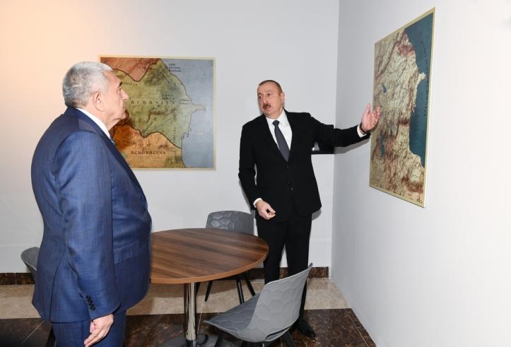 президент товуз карта