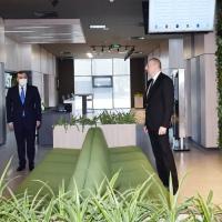 Президент Азербайджана принял участие в открытии центра DOST № 3 и дал интервью AzTV -ВИДЕО