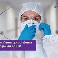 Azercell-dən koronavirusla savaşan tibb işçilərinə dəstək davam edir