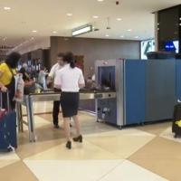 Bakı Hava limanında qadın çantasından metamfetamin və MDMA narkotikləri aşkar edilib - VİDEO