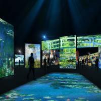 В Австралии открывается мультисенсорная выставка Моне - ВИДЕО