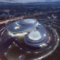 В Шанхае проходит тестирование крупнейший в мире планетарий