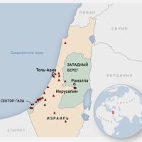 Город Газа результате авиаударов остался без электричества