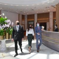 Bakıda yeni 5 ulduzlu otelin açılışı olub - FOTO