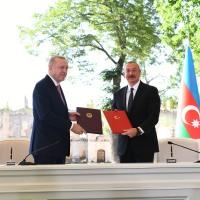 Azərbaycanla Türkiyə arasında Şuşa Bəyannaməsi imzalanıb - VİDEO