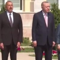 Şuşada Türkiyə Prezidenti Rəcəb Tayyib Ərdoğanın rəsmi qarşılanma mərasimi olub - VIDEO