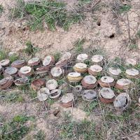 Azad olunan ərazilərdə ötən həftə aşkarlanan minaların sayı açıqlanıb